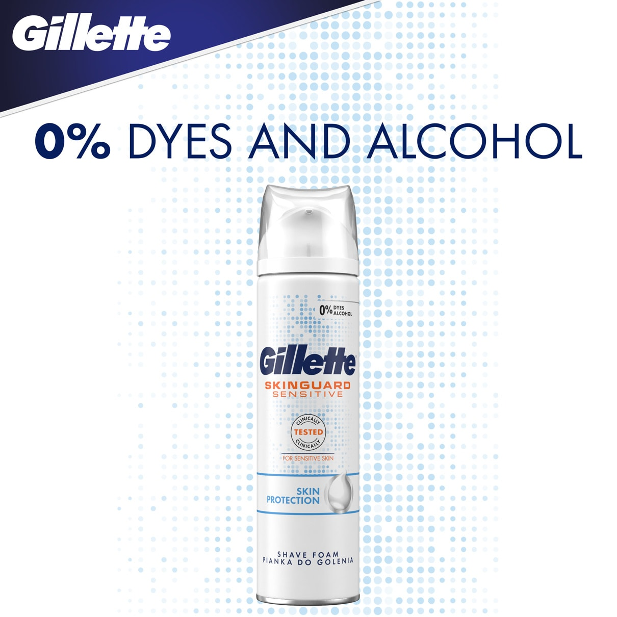0% dyes and alcohol