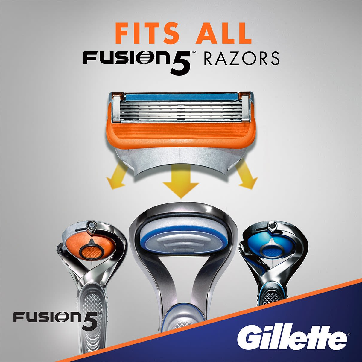 Fits all Fusion5 razors