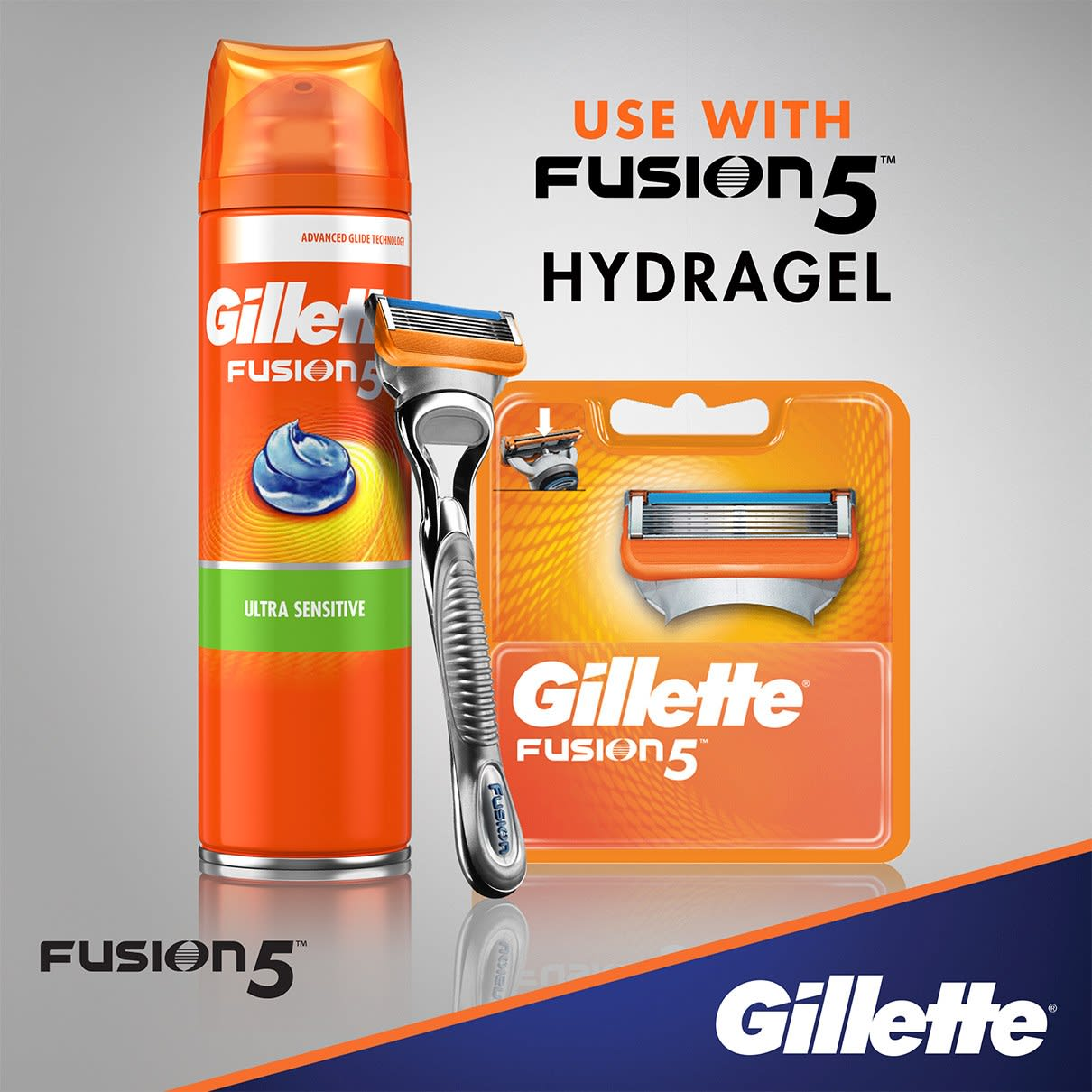 Use with Fusion5 Hydragel
