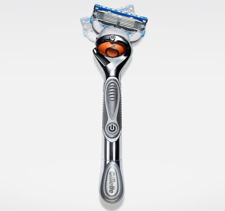 Fusion Proglide Silvertouch Power Razor With Flexball