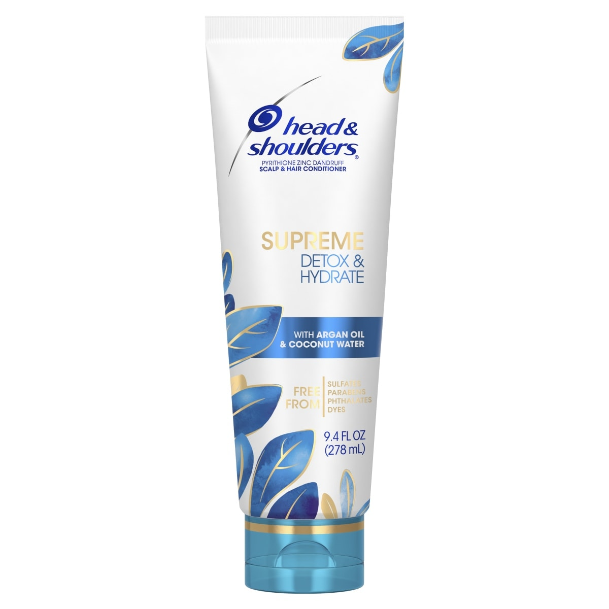 Head and Shoulders Supreme Detox & Hydrate Hair & Scalp Conditioner, 9.4 fl oz