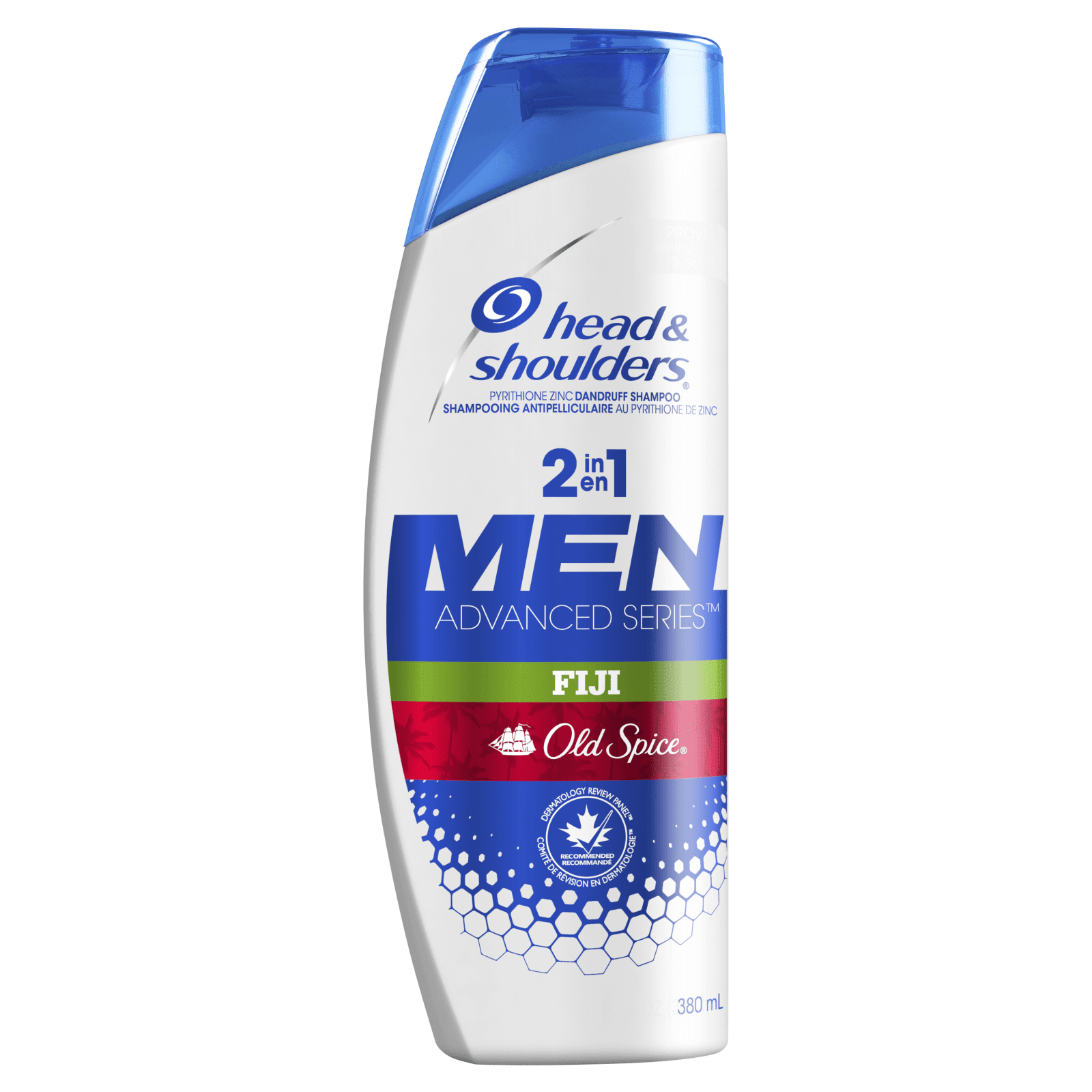 Shampooing Antipelliculaire 2 En 1 Pour Hommes Old Spice Fiji