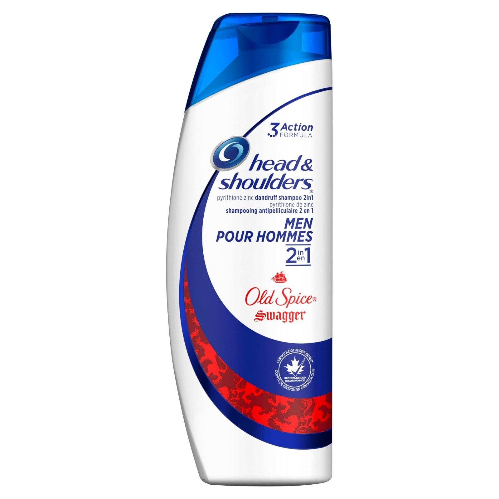 Old Spice Swagger Shampooing et revitalisant antipelliculaire 2 en 1 pour hommes