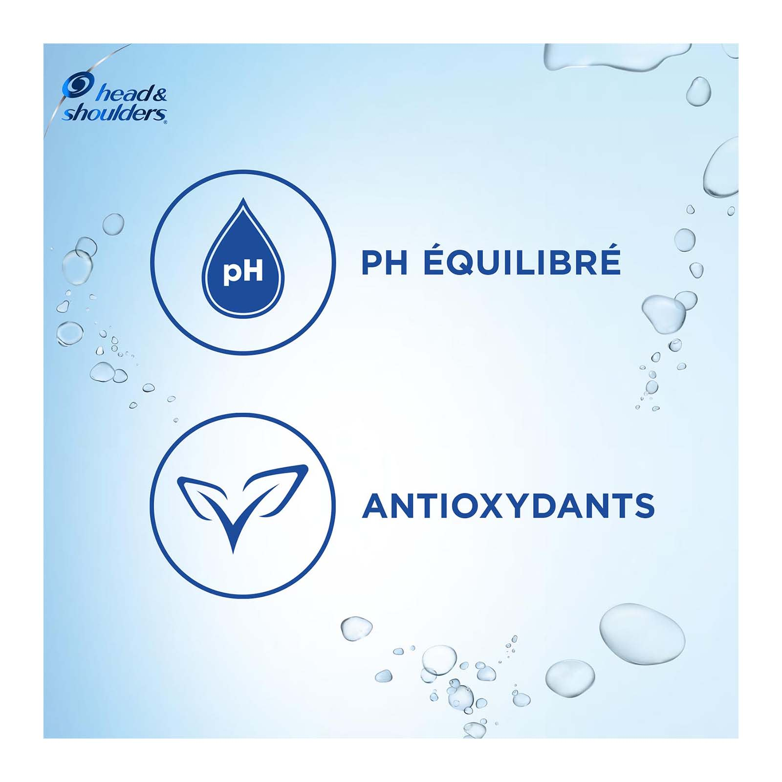 PH Équilibré, Antioxydants