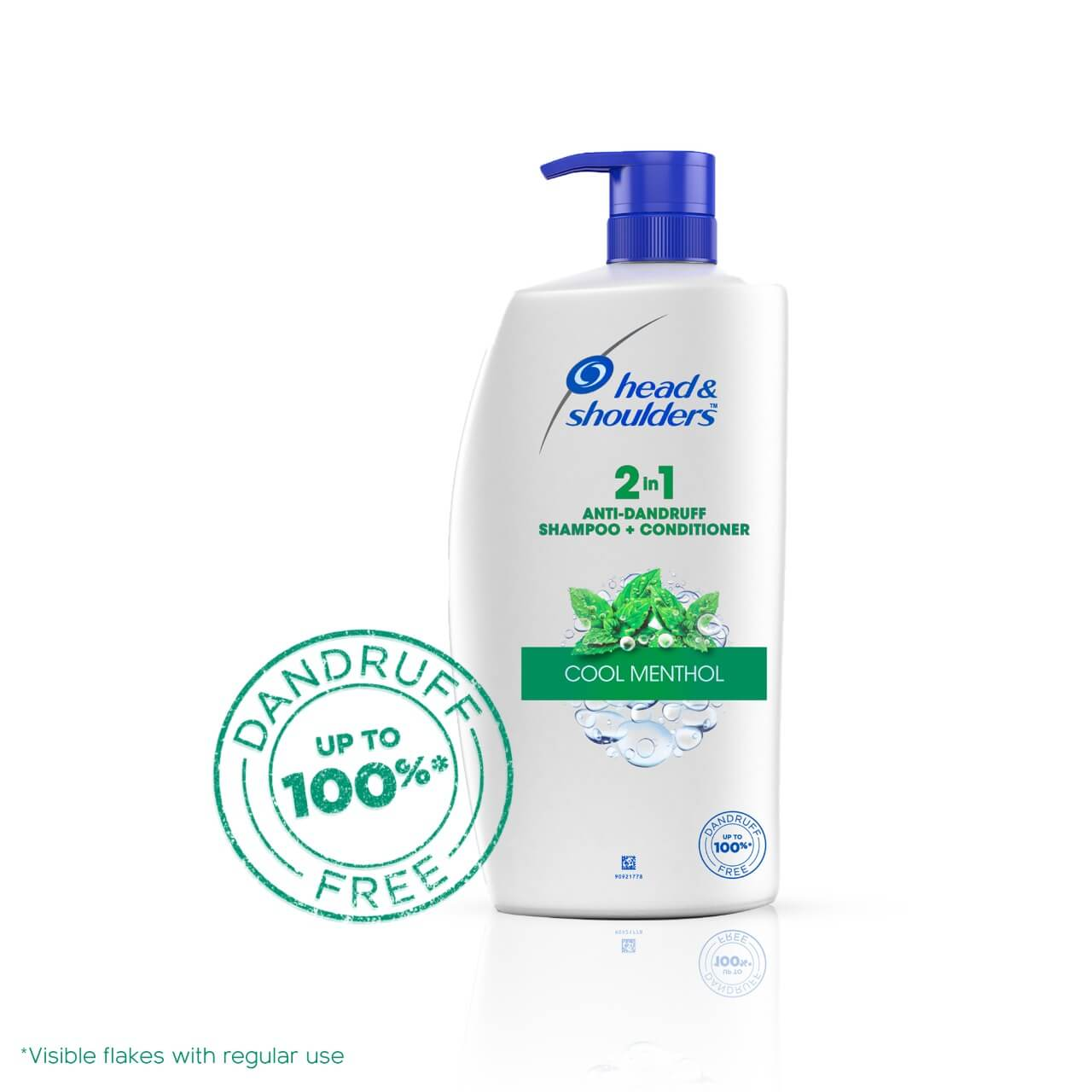 Head and Shoulders 2-in-1 Cool Menthol Anti-Dandruff Shampoo + Conditioner