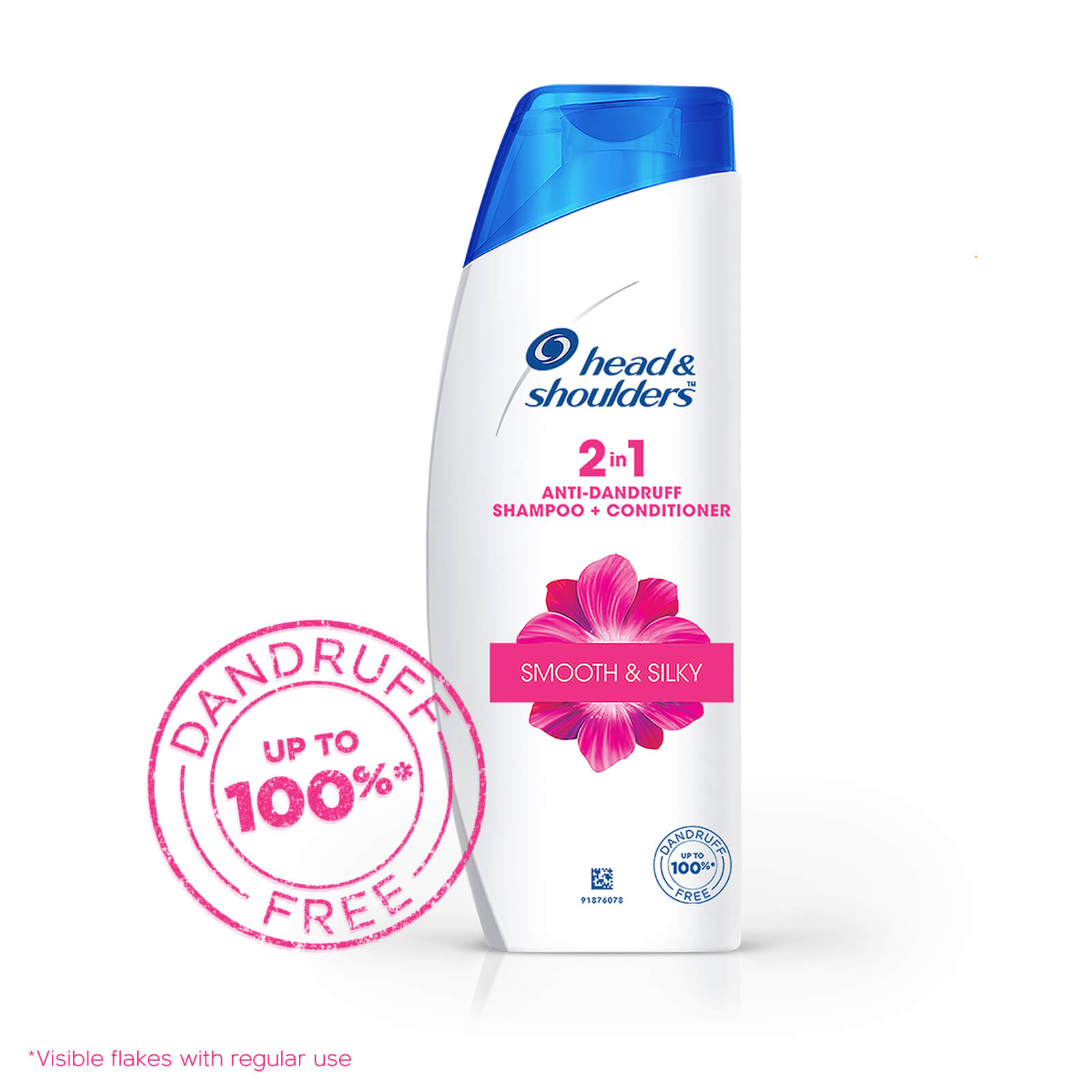 Head and Shoulders 2-in-1 Silky Smooth Anti-Dandruff Shampoo + Conditioner