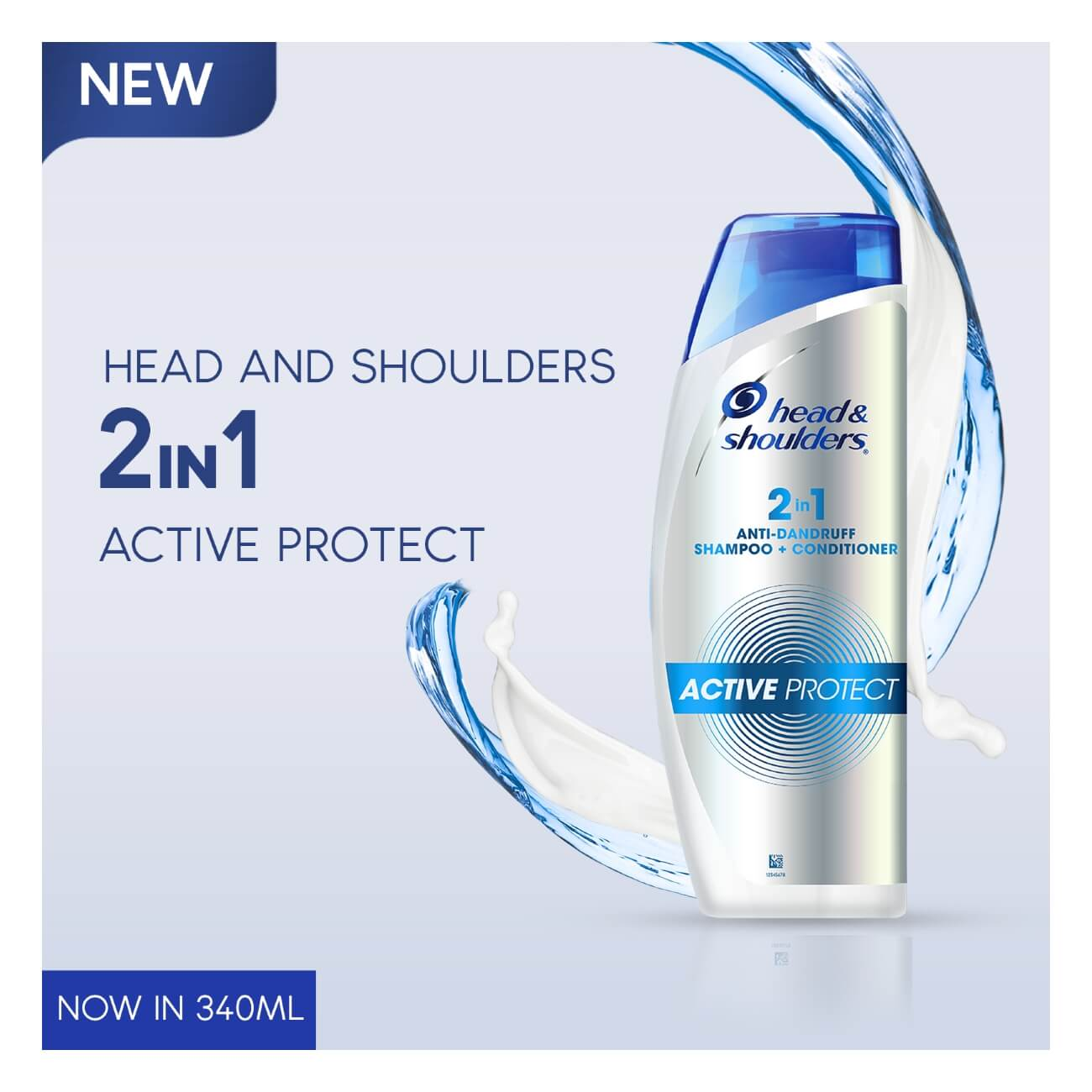 Head and Shoulders 2-in-1 Active Protect Anti-Dandruff Shampoo + Conditioner