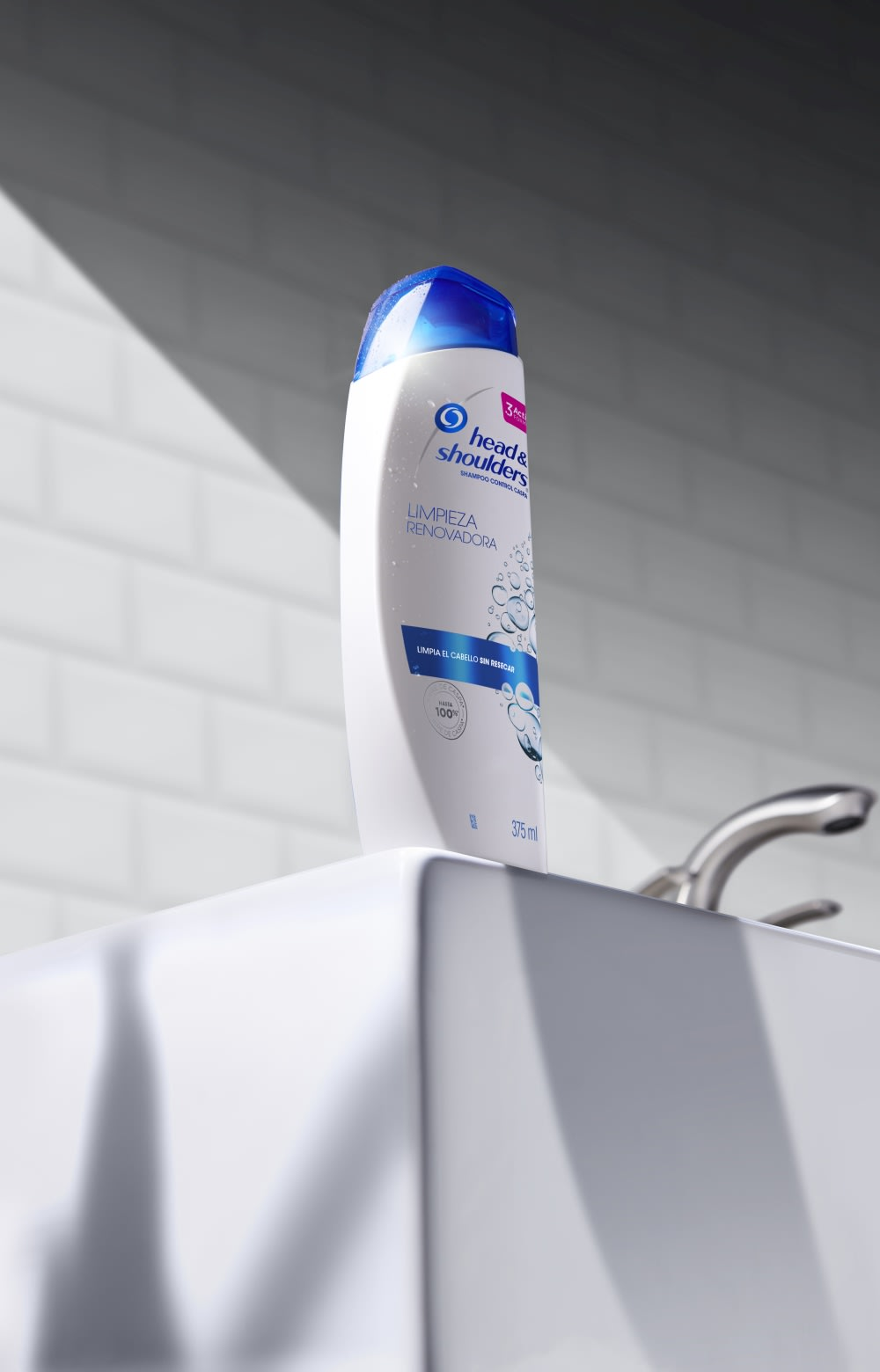 botella reciclable de shampoo Head & Shoulders