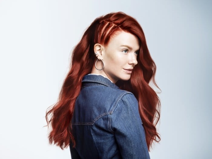 Caucasian Red Haired Sarah