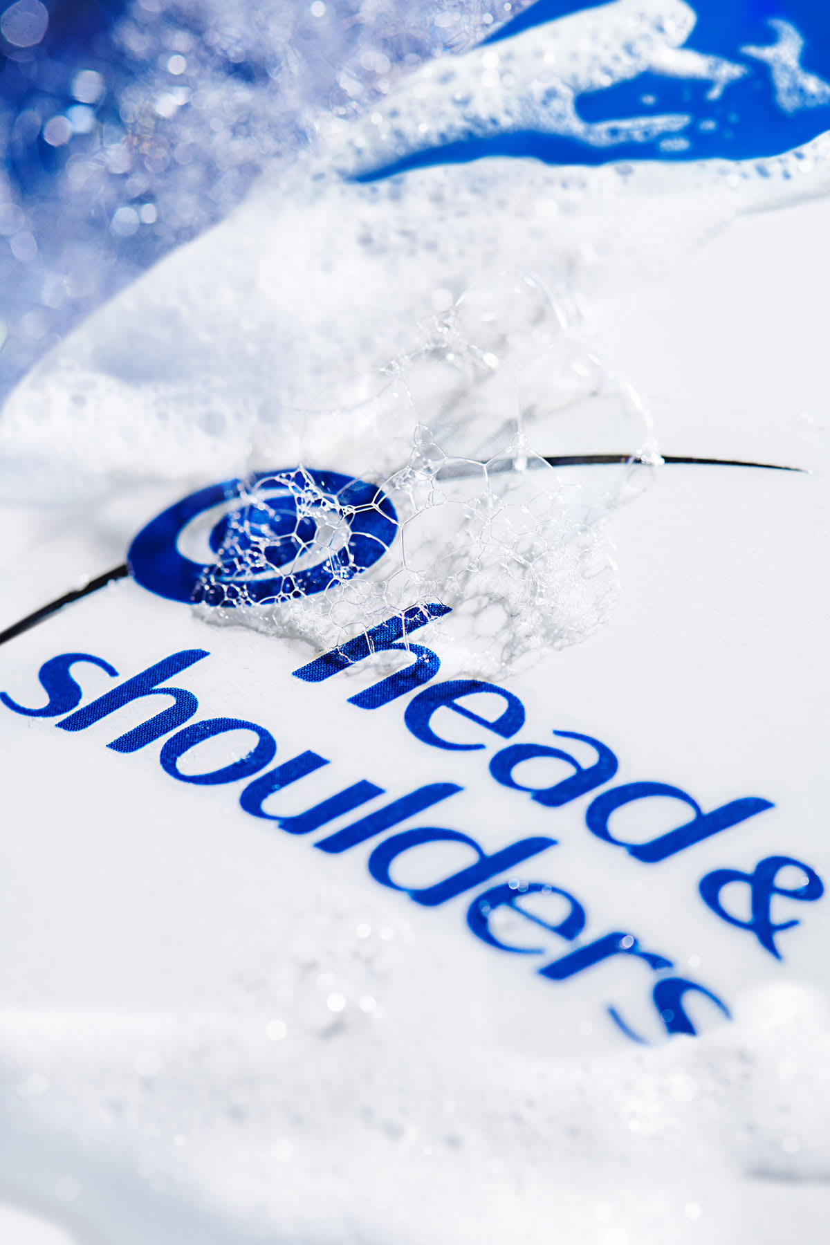 Lather on Head & Shoulders bottle