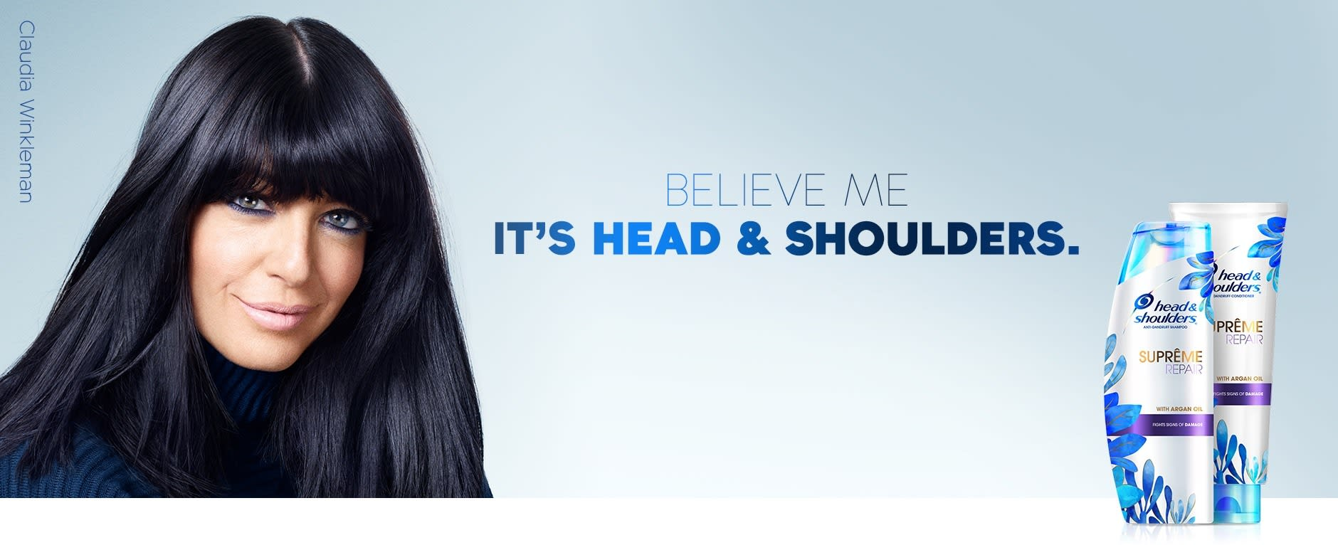 Believe me. It's Head & Shoulders.