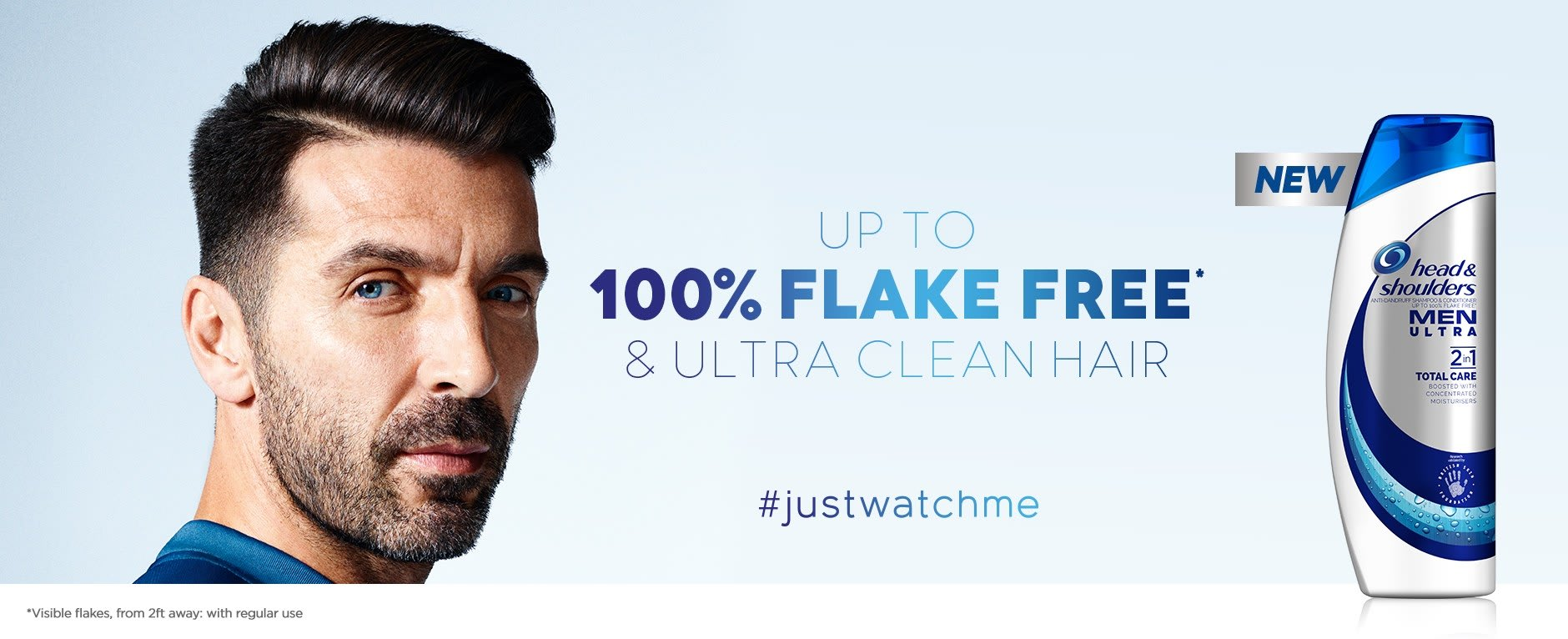 Up to 100% flake free & ultra clean hair