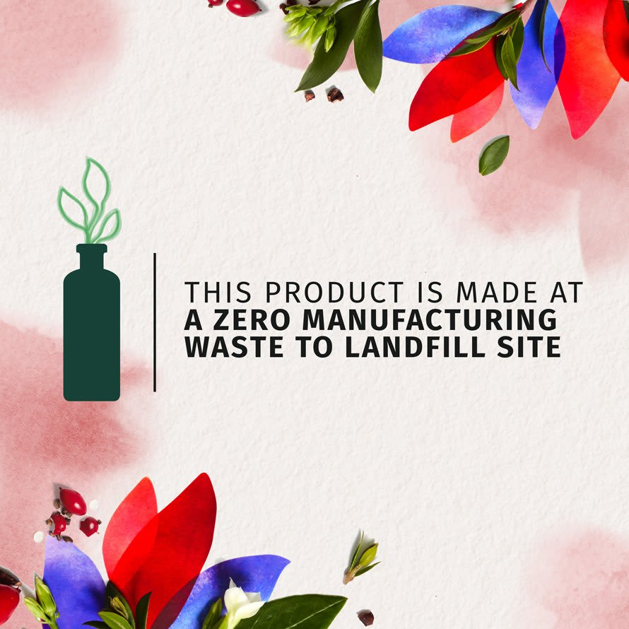 Herbal Essences Zero Manufacturing Waste