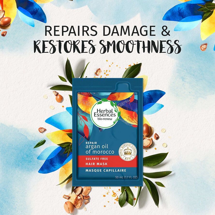 Herbal Essences Argain oil Mask repair damage