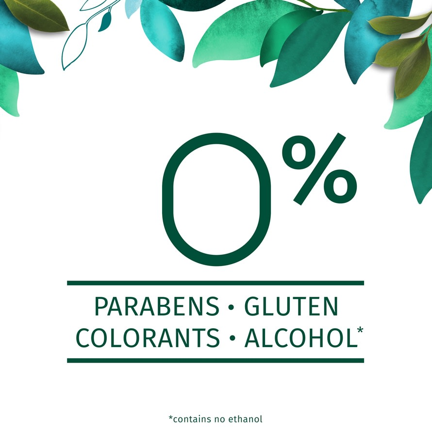 Herbal Essences 0% Parabens - Colorants - Gluten - Alcohol