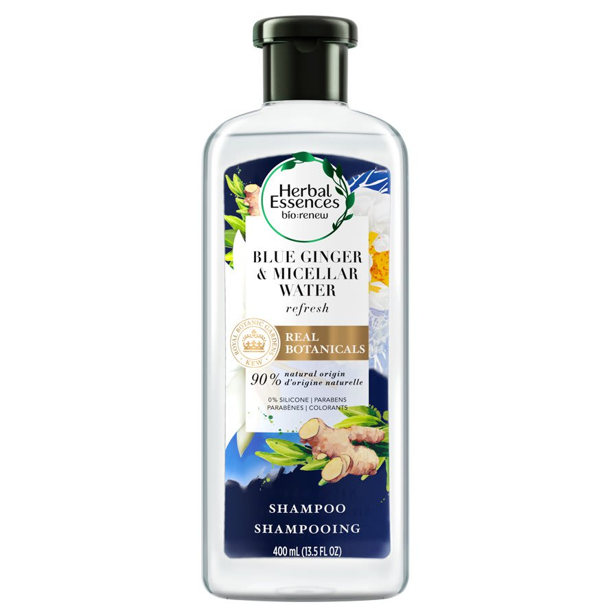 Herbal Essences Blue Ginger And Micellar Water Shampoo
