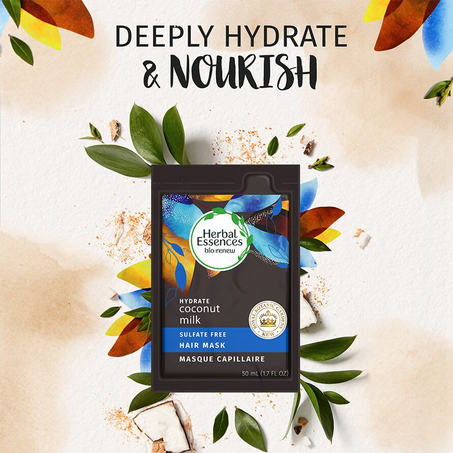 Herbal Essences Coconut Milk Hair Mask deeply hydrate