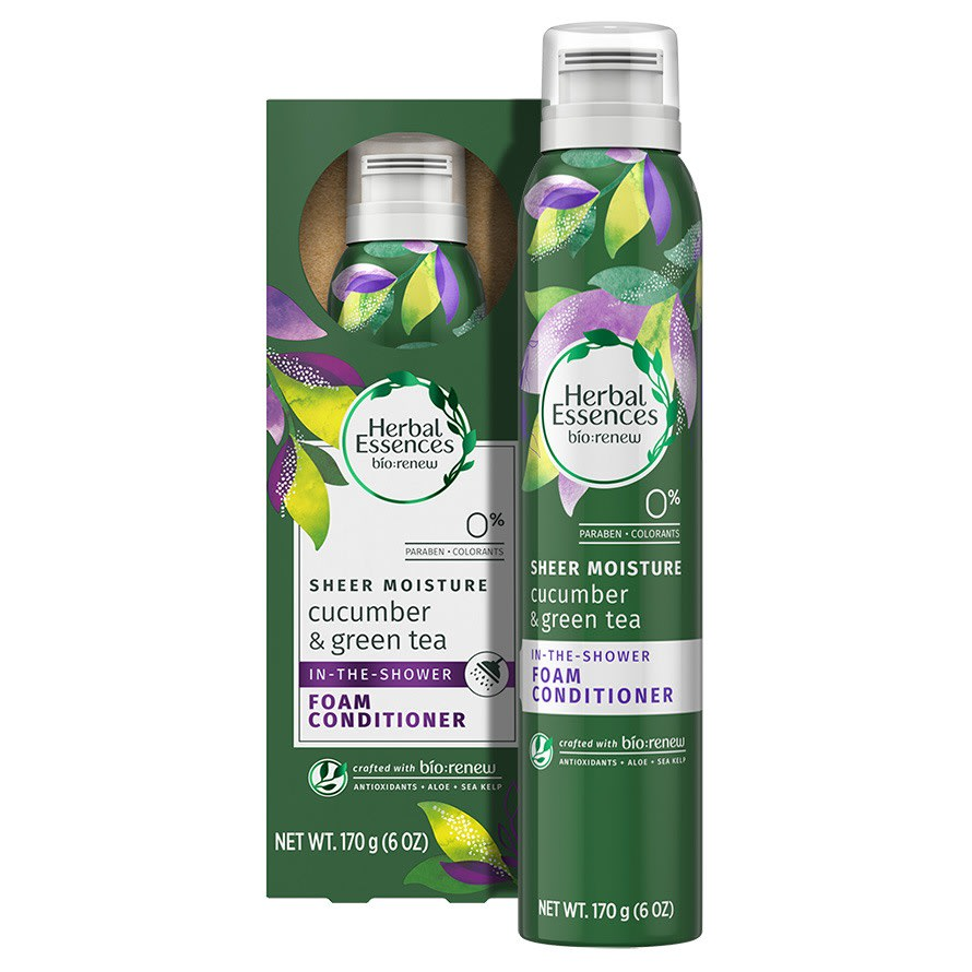 Cucumber and Green Tea Foam Conditioner