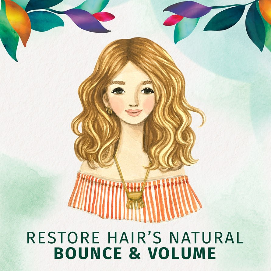 Restore Hair's Natural Bounce & Volume