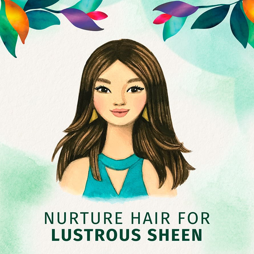 Nurture Hair For Lustrous Sheen