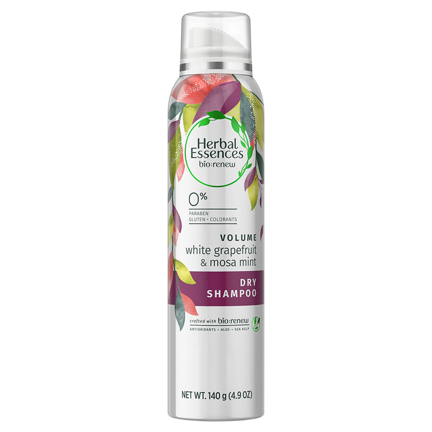 Herbal Essences White Grapefruit And Mosa Mint Dry Shampoo