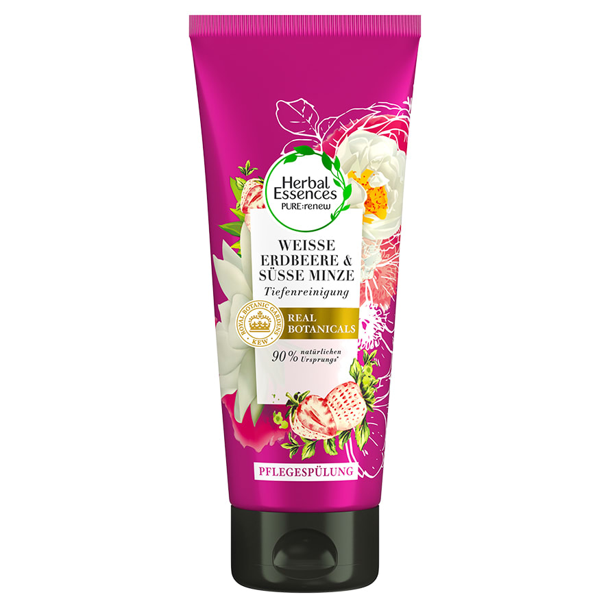 Herbal Essences Weisse Erdbeere & Süsse Minze Conditioner