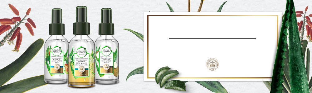 Hair Oil Mist Collection Banner