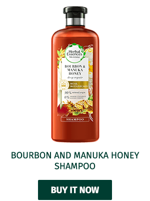 Herbal Essences Bourbon Manuka Honey shampoo