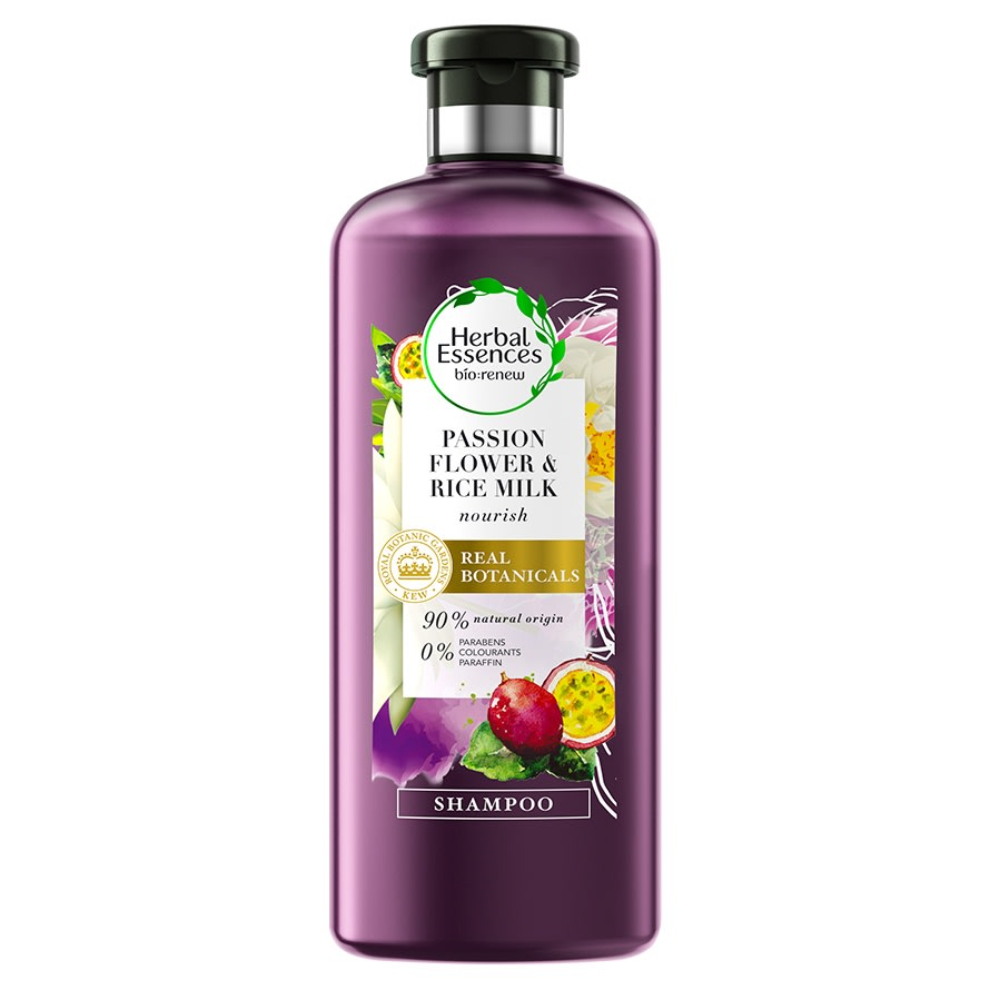 Passion Flower Rice Milk Shampoo