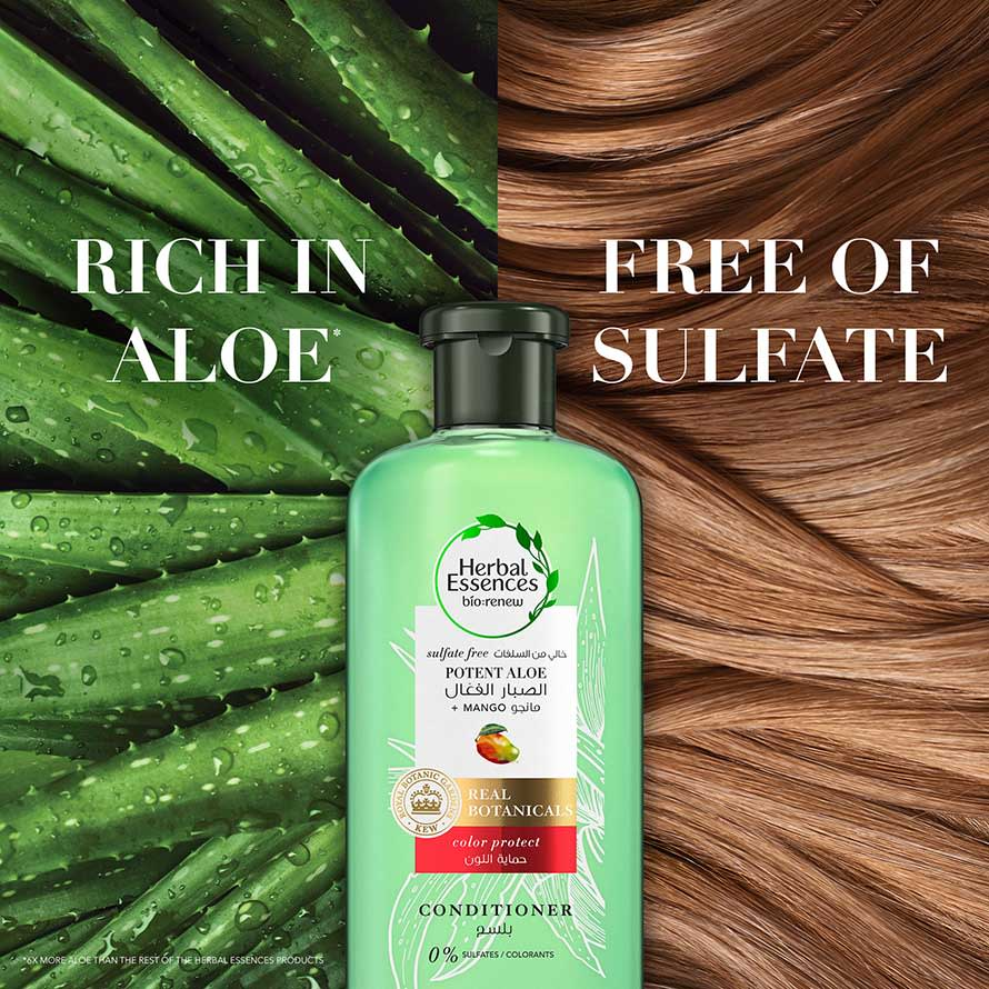 Rich in Aloe, Free of Sulfate