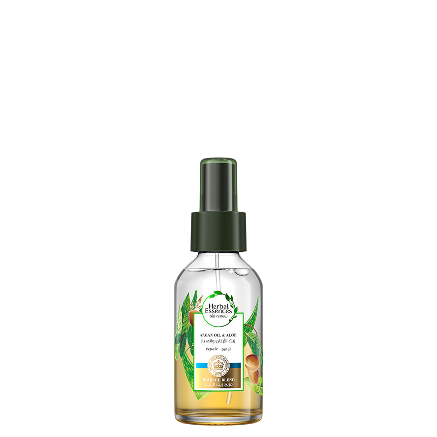 Argan Oil & Aloe Vera Hair Oil Blend