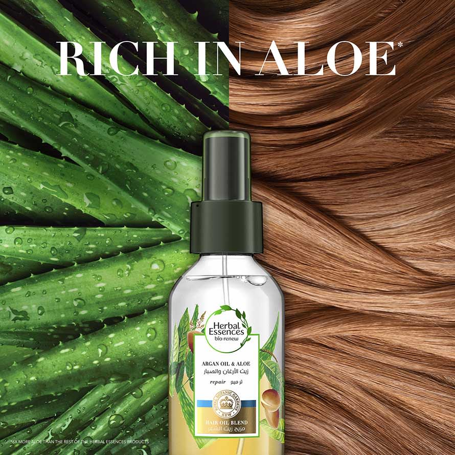 Argan and Aloe Hair Oil Blend