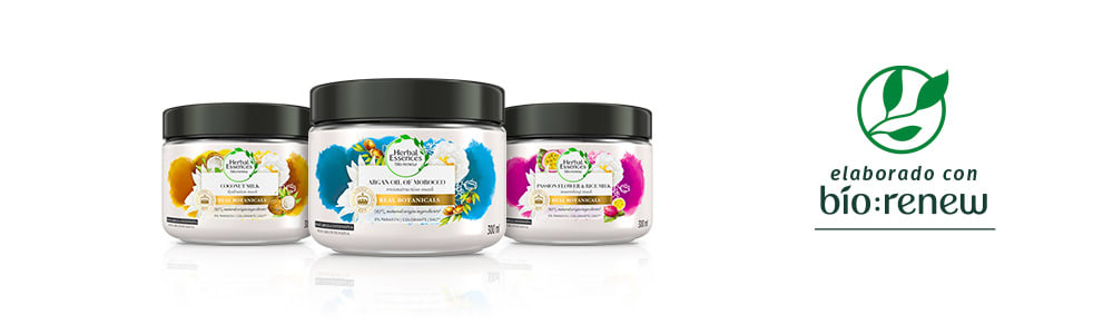 Herbal Essences MX Mascarillas