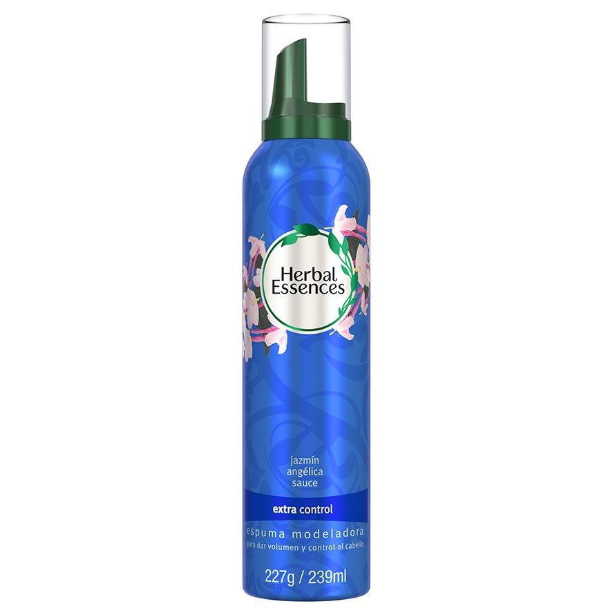 Herbal Essences Extra Control Espuma Modeladora