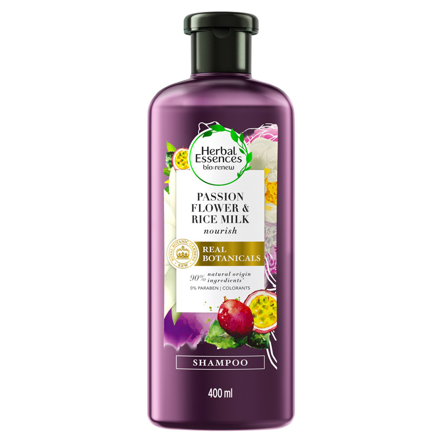 Passion Flower & Rice Milk Shampoo