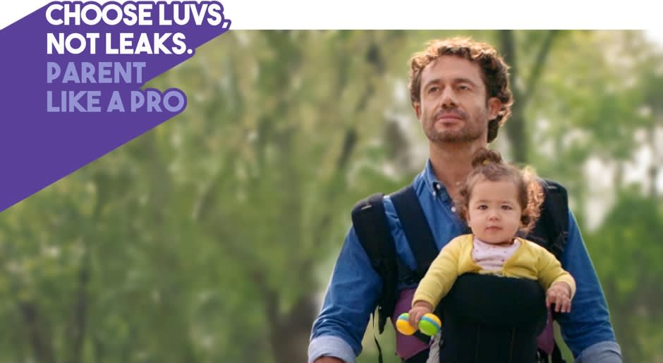 CHOOSE LUVS, NOT LEAKS. PARENT LIKE A PRO.