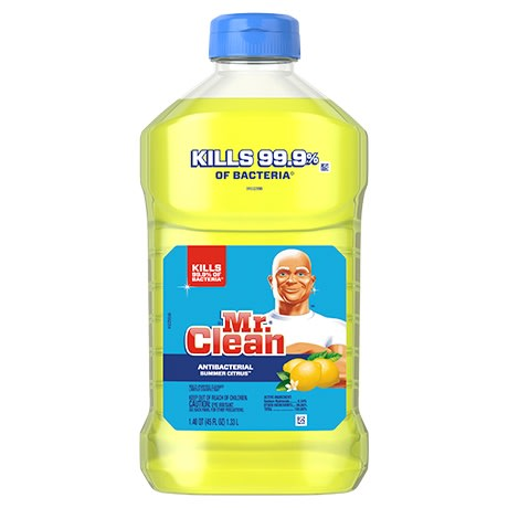 mr clean antibacterial cleaner with