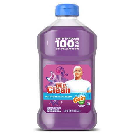 Mr Clean Liquid Cleaner Gain Moonlight Breeze