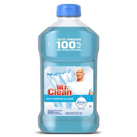 Mr Clean Liquid Cleaner Linen and Sky