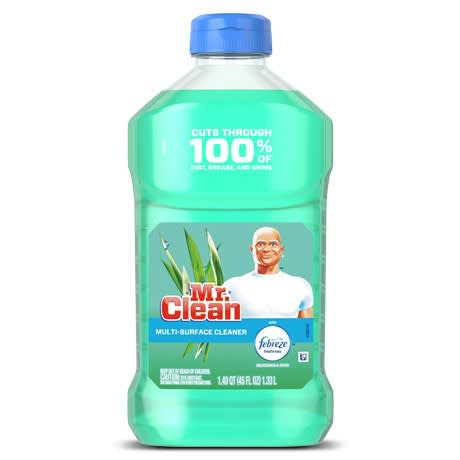Mr Clean Multi Purpose Cleaner With Febreze Meadows and Rain