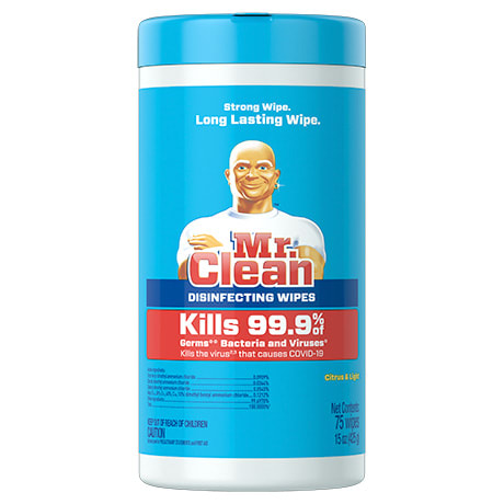 Mr. Clean Disinfecting Wipes