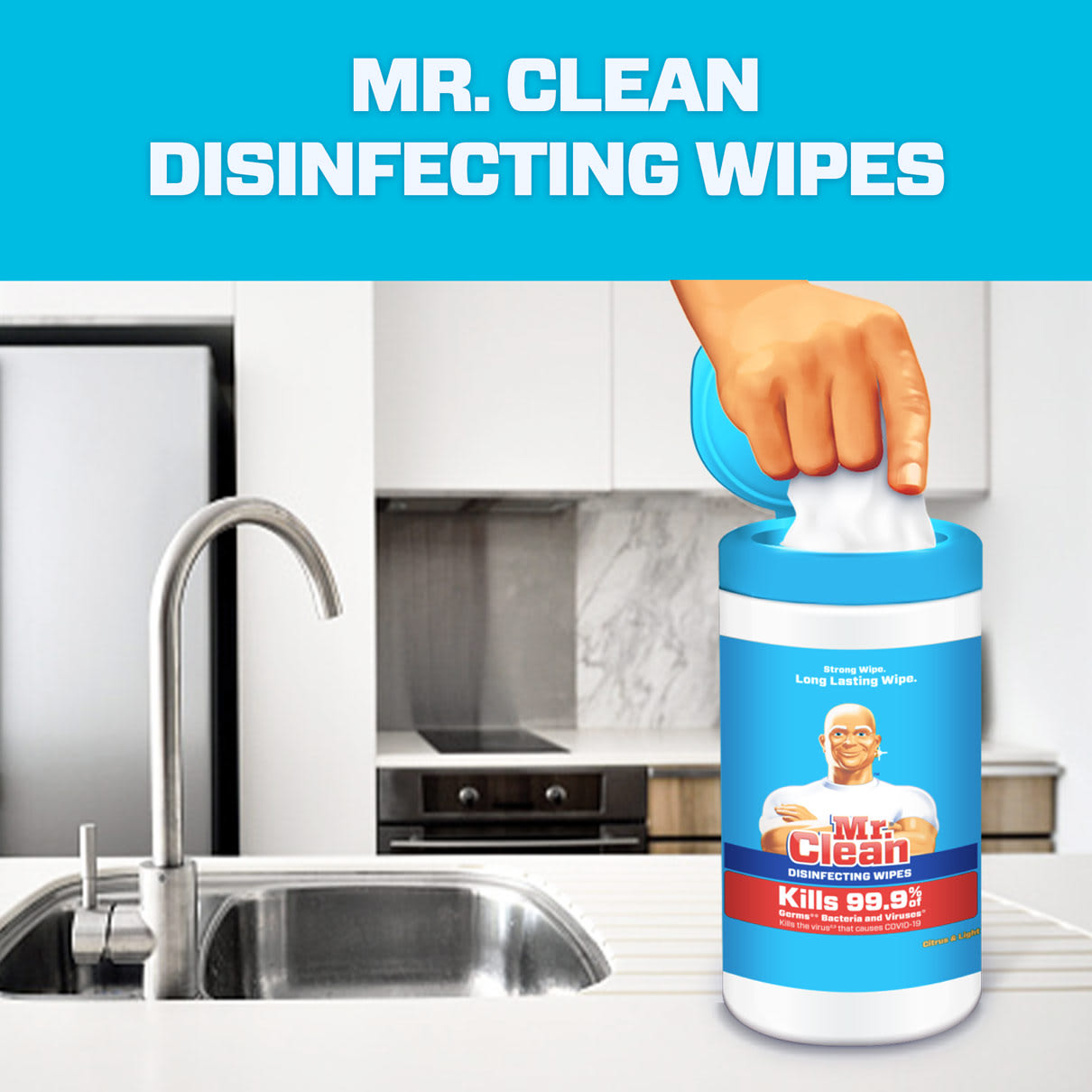 Mr. Clean - Disinfecting wipes