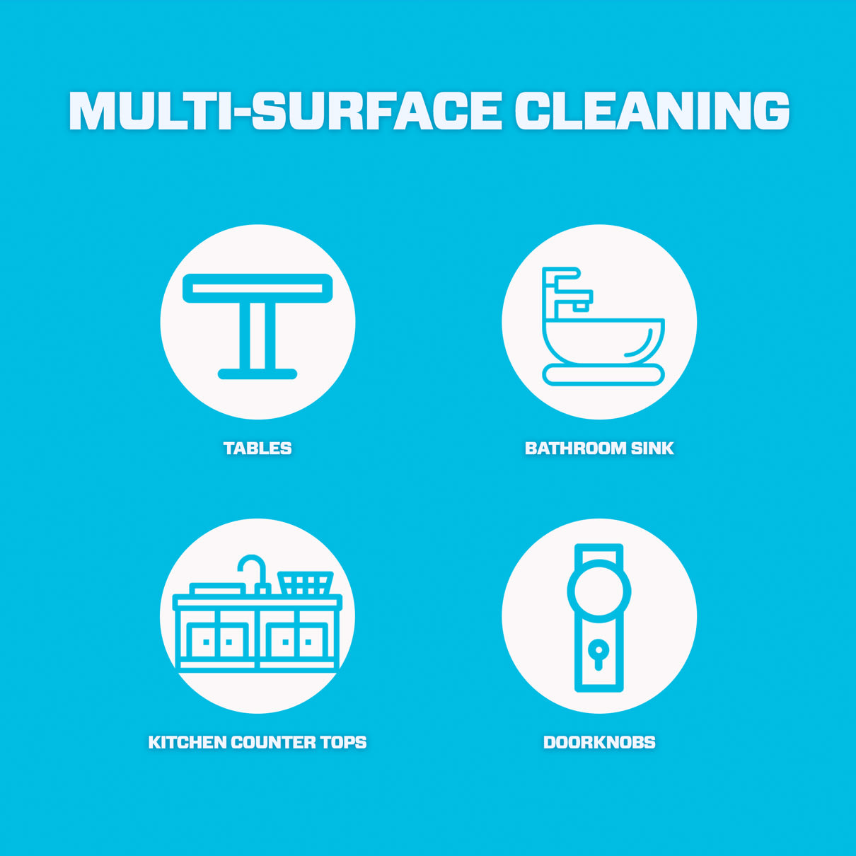 Mr. Clean multi-surface cleaning