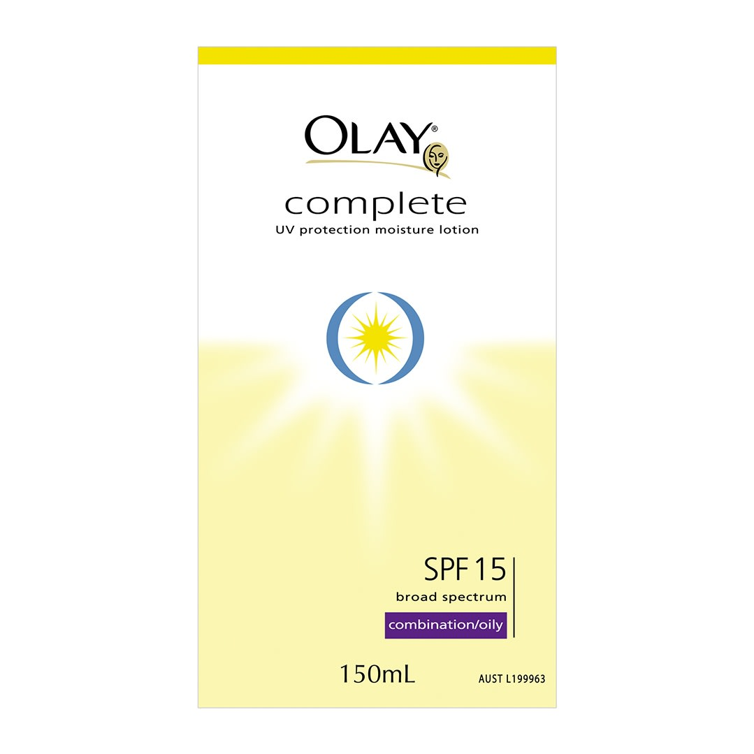 Complete UV Protection Cream SPF 15 Combination/Oily