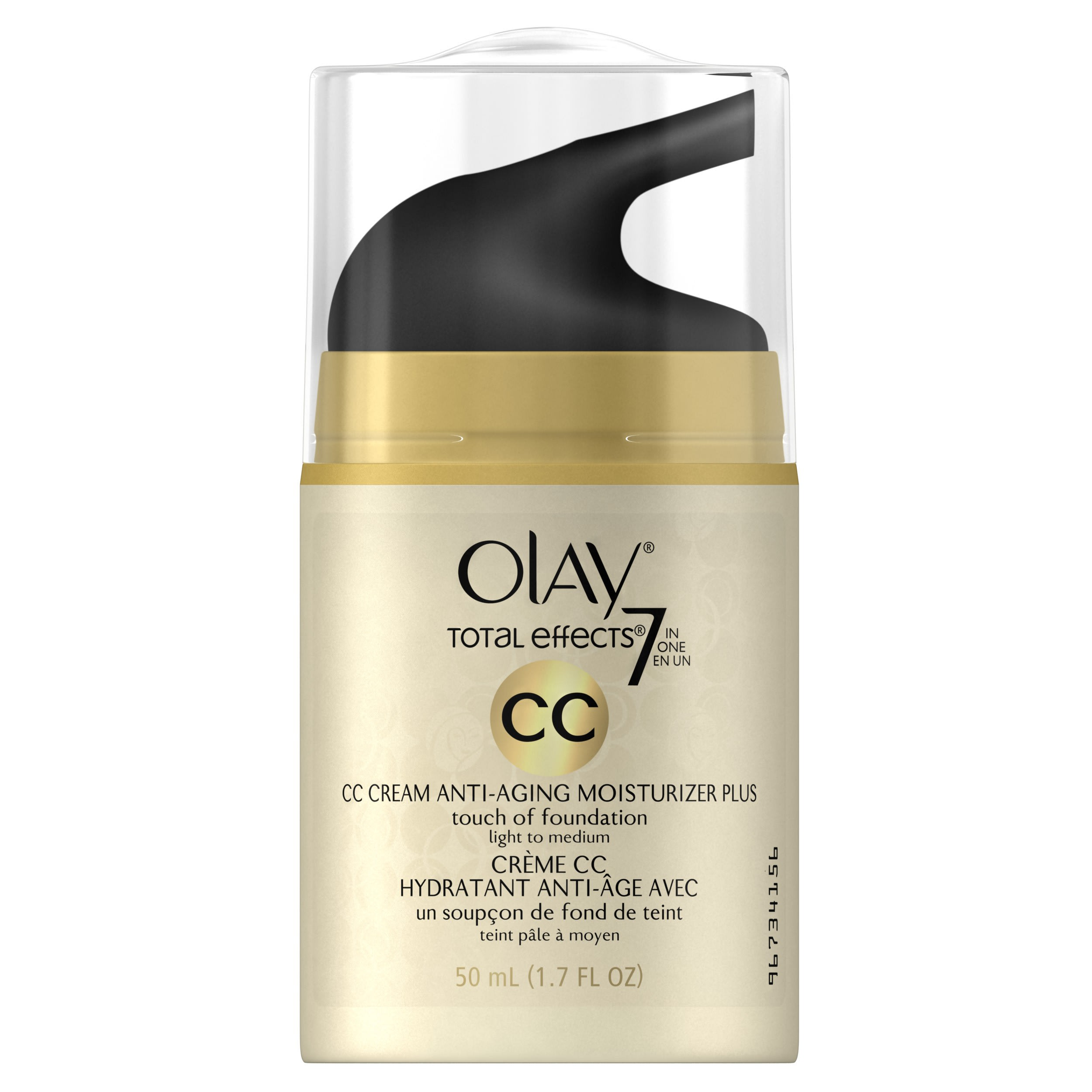 Olay CC Cream Total Effects Daily Moisturizer Touch of Foundation 3