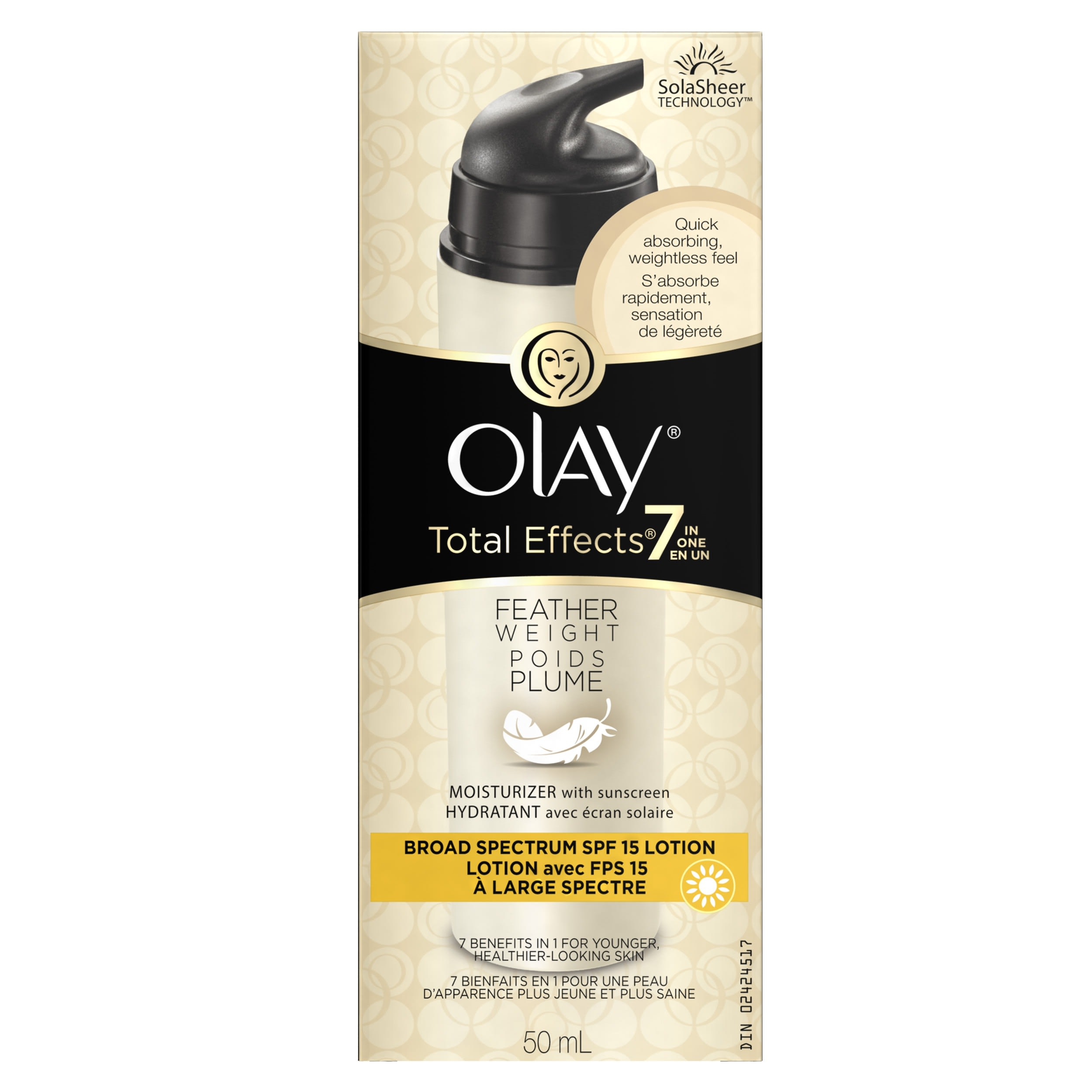 Olay Total Effects Feather Weight Moisturizer with SPF 15 1