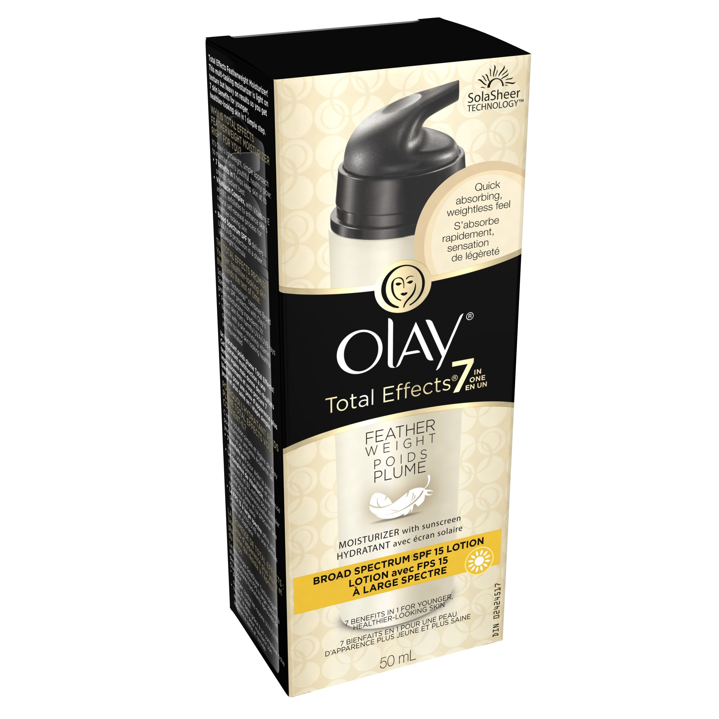 Olay Total Effects Feather Weight Moisturizer with SPF 15 2