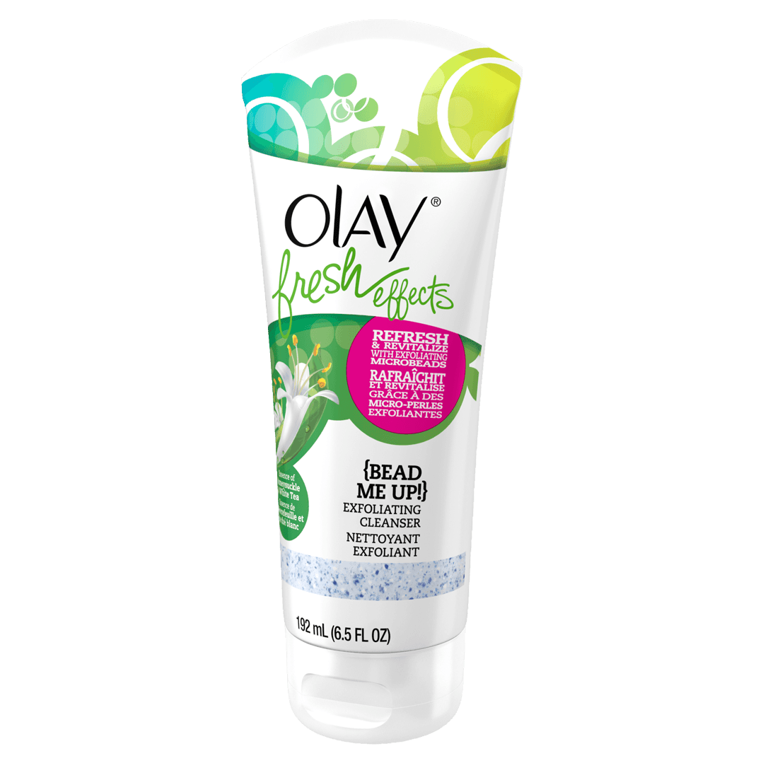 Nettoyant exfoliant de Olay Fresh Effects Bead Me Up!