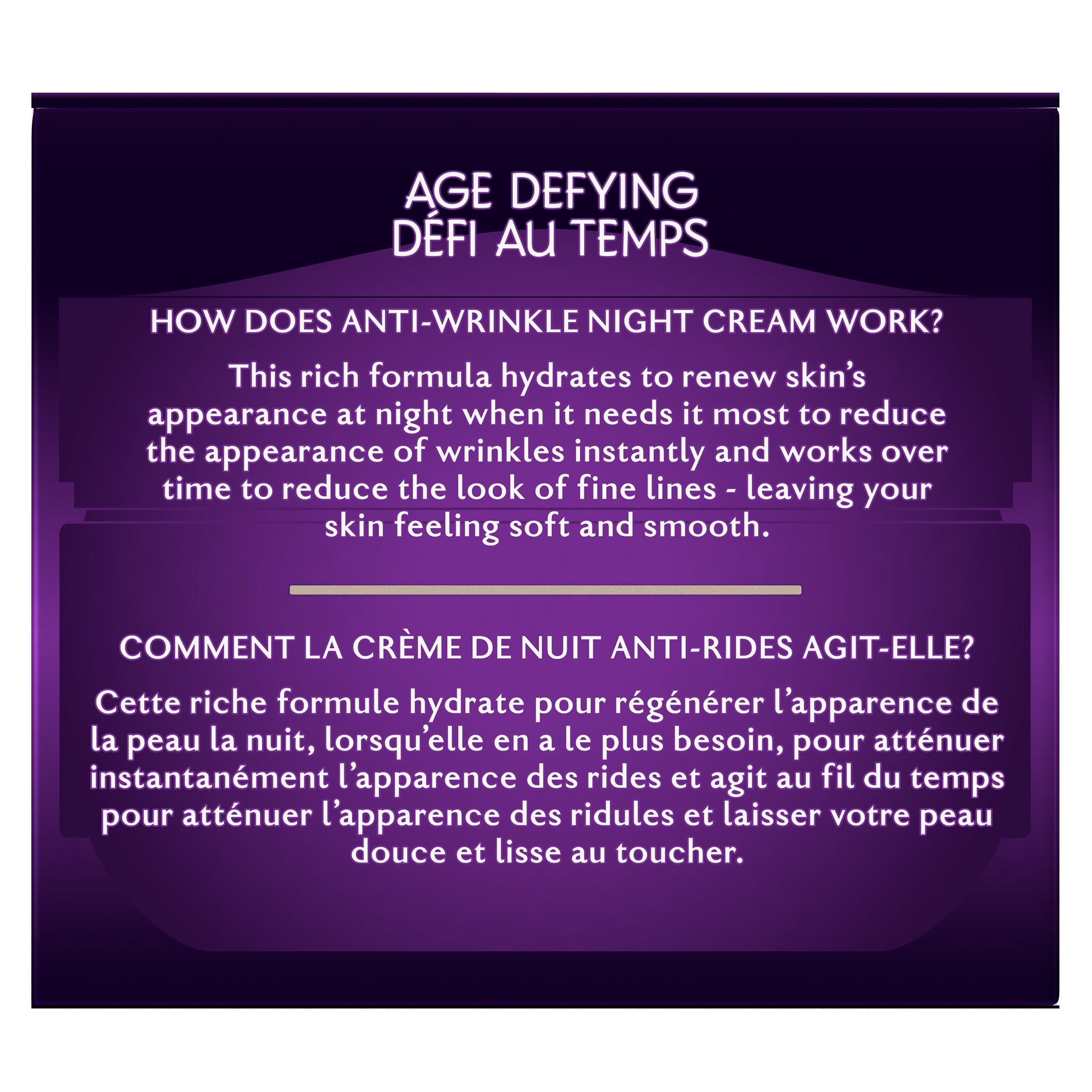 Age Defying Anti Wrinkle Night Cream 4