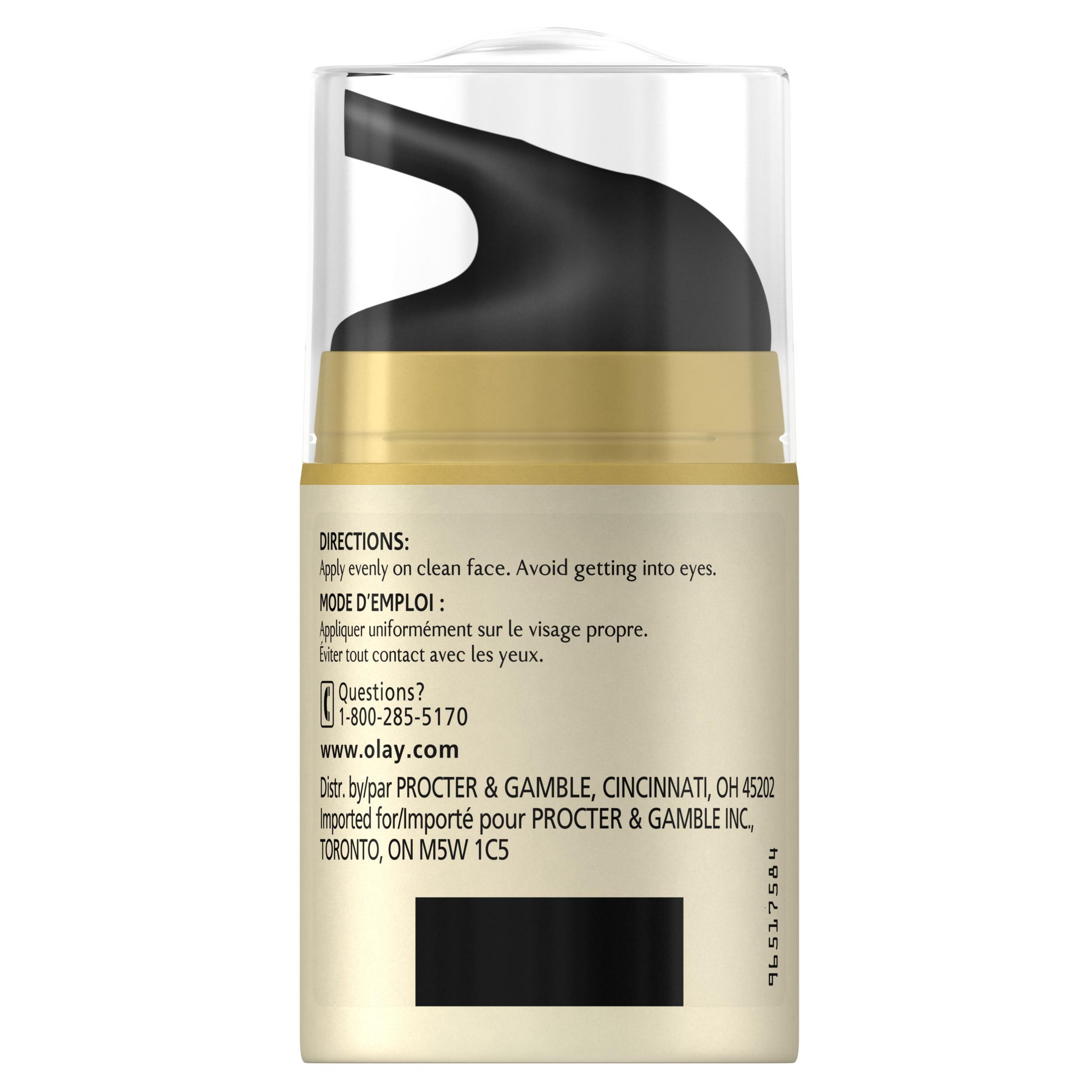 Olay CC Cream Total Effects Daily Moisturizer Touch of Foundation 4